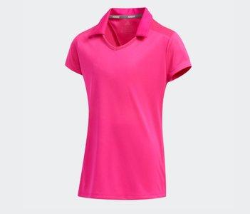 Adidas Girls fashion shortsleeve polo