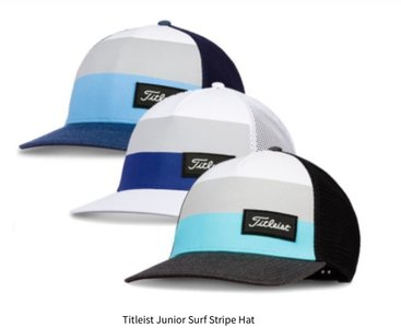 Titleist junior surf stripe cap