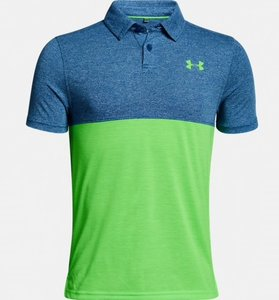Under Armour treadborne blocked polo