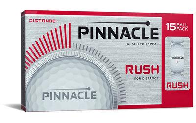 Pinnacle Rush 15-pack golfballen
