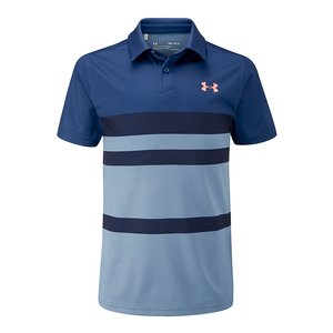 Under Armour Threadborne stripe polo
